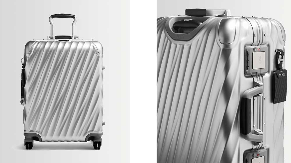 TUMI 19 Degree International Aluminum Suitcase Collection