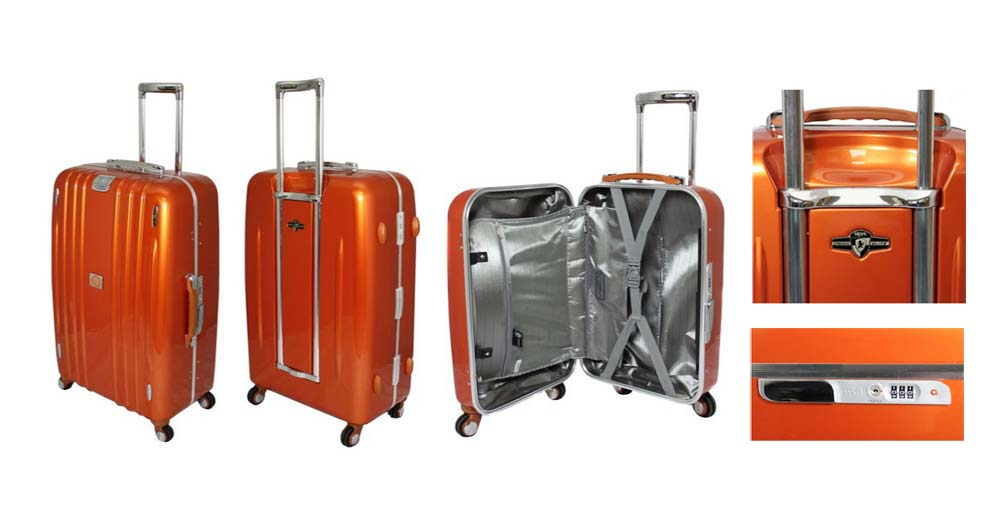 Heys Crown Edition M Elite Upright Spinner Suitcase