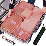 Cocoly Travel Organizers Luggage Packing Cubes