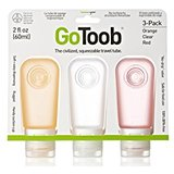 Humangear GoToob 3-Pack Travel Bottles