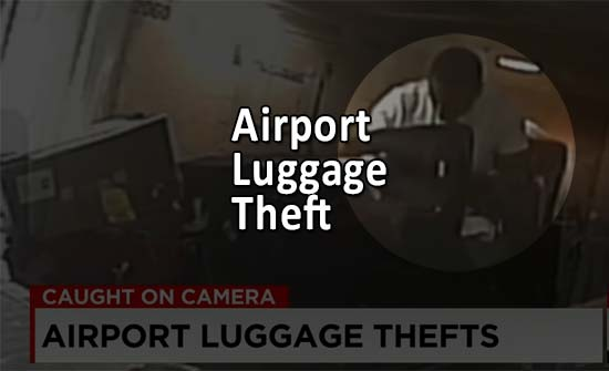 How to protect against Airport Luggage Theft