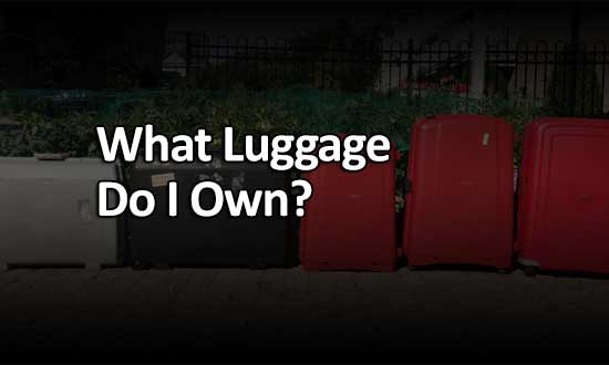 What luggage do I own?