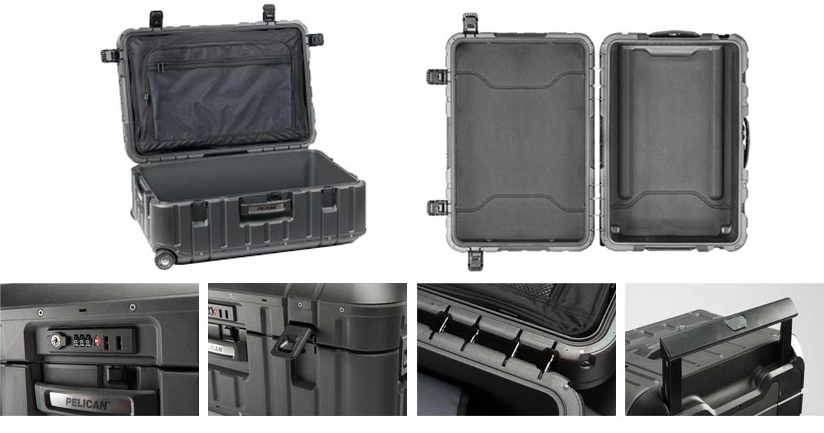 Pelican Elite Luggage details