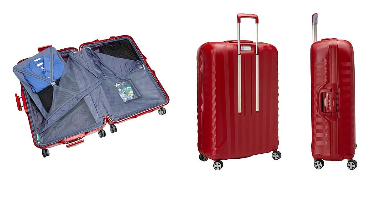 Roncato UNO SL 4 Wheel Polycarbonate Suitcase With Frame