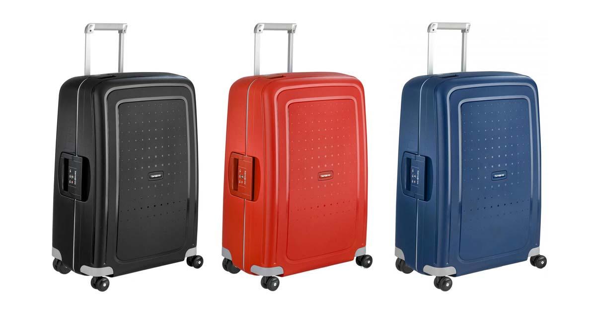 samsonite s 39 cure hardside spinner suitcase. Black Bedroom Furniture Sets. Home Design Ideas