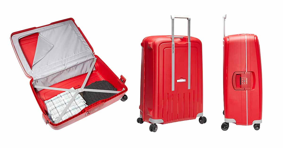 Samsonite S'Cure Hardside Spinner Suitcase