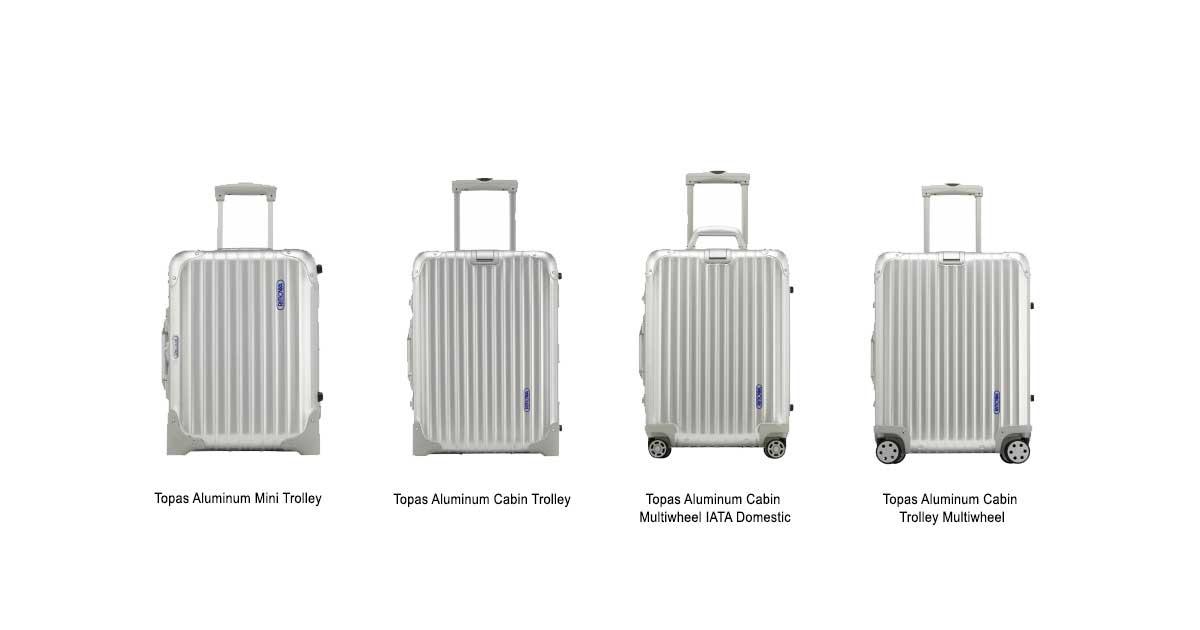 rimowa topas aluminum hard sided suitcase. Black Bedroom Furniture Sets. Home Design Ideas